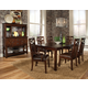 Standard Furniture Sonoma 8 Piece Rectangular Leg Dining Set in Rich Tobacco