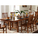 A-America Laurelhurst Trestle Dining Table in Mission Oak LAUOA6320