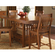 A-America Laurelhurst Gathering Height Dining Table in Mission Oak LAUOA6720
