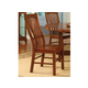 A-America Laurelhurst Slatback Side Chair in Mission Oak (Set of 2) LAUOA275K