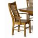 A-America Laurelhurst Slatback Arm Chair in Rustic Oak (Set of 2) LAURO276K