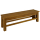 A-America Laurelhurst Bench in Rustic Oak LAURO295K