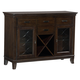 Standard Furniture Mulholland Boulevard Server in Brown Cherry 15162S