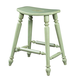 Fine Furniture Summer Home Saddle Counter Stool in Sea Grass 1052-928-S