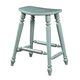 Fine Furniture Summer Home Saddle Counter Stool in Sky 1053-928-S