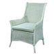 Fine Furniture Summer Home Cottage Wicker Arm Chair in Shell 3222-03-1051-134
