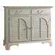 Fine Furniture Summer Home China Buffet in Shell 1051-831