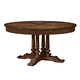 Fine Furniture Harbor Springs Round Extending Dining Table in Port 1370-811-810