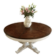 Fine Furniture Harbor Springs Round Extending Dining Table in Port/ Haven 1370-811/810