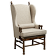 Fine Furniture Harbor Springs Host Upholstered Ladderback Chair in Port (Set of 2) 1370-821