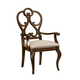 Fine Furniture Harbor Springs Scroll Arm Chair in Port (Set of 2) 1370-825