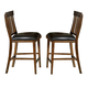 A-America Mariposa Slatback Barstool in Rustic Whiskey (Set of 2) MRPRW365K