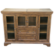 A-America Mariposa Flip Top Server in Rustic Whiskey MRPRW9010