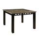 Standard Furniture Gateway Grey Counter Height Table in Dark Chicory Brown 18271