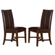 A-America Mesa Rustica Parson Side Chair in Aged Mahogany (Set of 2) MESAM269K
