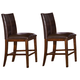 A-America Mesa Rustica Parson Counter Stool in Aged Mahogany (Set of 2) MESAM369K