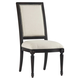 Pulaski Accentrics Home St. Raphael Side Chair (Set of 2) Dark-Wood 205038