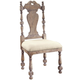 Pulaski Accentrics Home Kyra Side Chair (Set of 2) in Aged Patina 205001