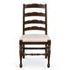 Magnussen Furniture Loren Ladderback Side Chair in Deep Cherry (Set of 2)