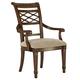 Fine Furniture Biltmore Lattice Arm Dining Chair in Vanderbilt (Set of 2) 1340-827