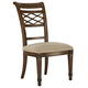 Fine Furniture Biltmore Lattice Side Dining Chair in Vanderbilt (Set of 2) 1340-826