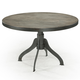 Magnussen Furniture Walton Casual Round Dining Table in Natural Aged Dry-Wood D2469-22