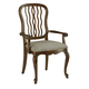 Fine Furniture Biltmore Carved Back Dining Arm Chair in Courtyard (Set of 2) 1344-821