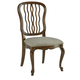 Fine Furniture Biltmore Carved Back Dining Side Chair in Courtyard (Set of 2) 1344-820