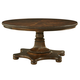 Fine Furniture Biltmore Balustrade Round Dining Table in Courtyard 1344-810/811