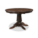 A-America Phinney Ridge Round Pedestal Dining Table in Mink PHIMI6210
