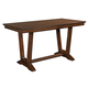 Kincaid Elise Solid Wood Stella Counter Table in Amaretto 77-059