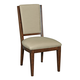 Kincaid Elise Solid Wood Spectrum Side Chair in Amaretto (Set of 2) 77-061