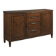 Kincaid Elise Solid Wood Maris Buffet in Amaretto 77-091