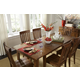 A-America Toluca Vers-A-Table Dining Table in Rustic Amber TOLRA617L
