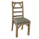 A-America West Valley Ladder Back Side Chair in Rustic Wheat (Set of 2) WVARW245K