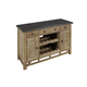 A-America West Valley Server/TV Console in Rustic Wheat WVARW9350