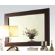 Acme Furniture Balint Mirror in Cherry 71264