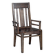Kincaid Montreat Saluda Wood Arm Chair in Graphite (Set of 2)  84-062