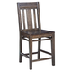 Kincaid Montreat Saluda Tall Dining Chair in Graphite (Set of 2) 84-067