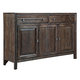 Kincaid Montreat Black Rock Sideboard in Graphite 84-089