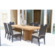 Skyline Design Dann Foley Highland/Beverly 7pc Rectangular Dining Table Set