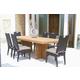 Skyline Design Dann Foley Highland/Beverly 7pc Rectangular Dining Table Set
