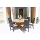 Skyline Design Dann Foley Highland/Beverly 7pc Round Dining Table Set