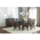 Kincaid Montreat Cornerstone Rectangular Dining Table Set in Graphite