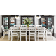 Stanley Coastal Living Retreat 11pc Rectangular Leg Dining Room Set in Saltbox White