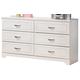 Lulu Dresser in White
