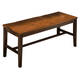New Classic Latitudes Wooden Bench in Two Tone 40-150-25T