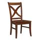 John Thomas Furniture Cosmopolitan Salerno Chair (Set of 2) in Espresso C581-14