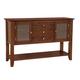 John Thomas Furniture Cosmopolitan Server in Espresso SV581-34