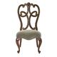 Bernhardt Villa Medici Side Chair in Warm Chestnut 355-555 (Set of 2)